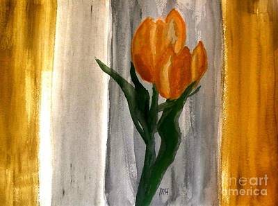 Royal Tulips Original by Marsha Heiken