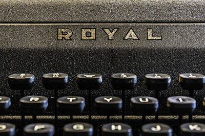 Photograph - Royal Typewriter #1 by Printed Pixels