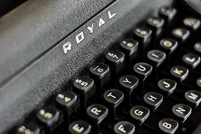 Photograph - Royal Typewriter #17 by Printed Pixels