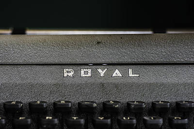 Photograph - Royal Typewriter #22 by Printed Pixels