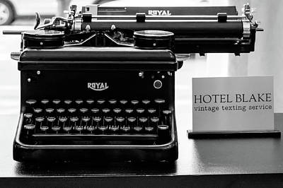 Photograph - Royal Typwriter by John McArthur