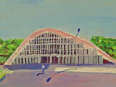 Painting - Royal University Of Phnom Penh by Paul Thompson