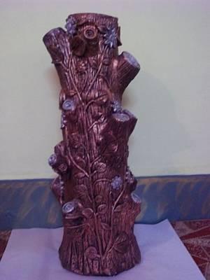 Royale Tree Art Print by Hakimuddin Pathan