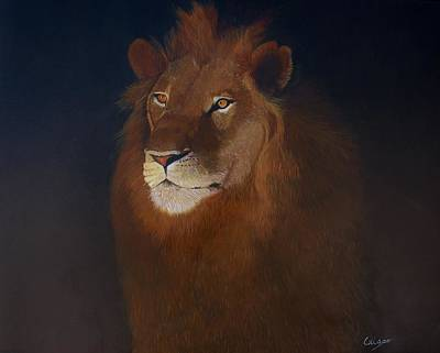 Painting - Royalty by Jean Yves Crispo
