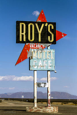 Photograph - Roys Motel Ande Cafe by Denise Dube