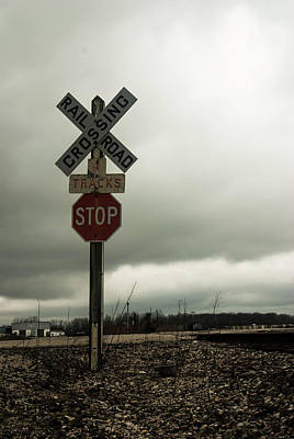 Photograph - Rr Crossing by Melissa Newcomb