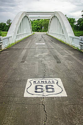 Photograph - Rt. 66 Rainbow Bridge by Susan McMenamin
