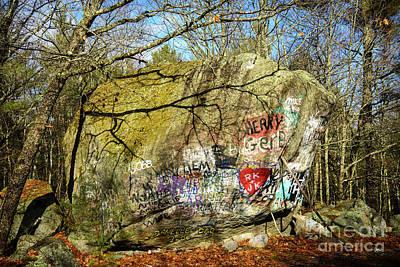 Photograph - Rt 9 Rock by Alana Ranney