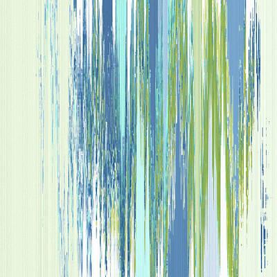 Digital Art - Rainy Street by Gina Harrison
