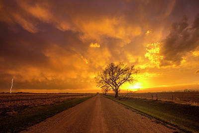 Photograph - Rtn- Heaven's Gate   by Aaron J Groen