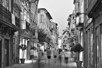 Photograph - Rua Do Souto Braga Portugal by Marek Stepan