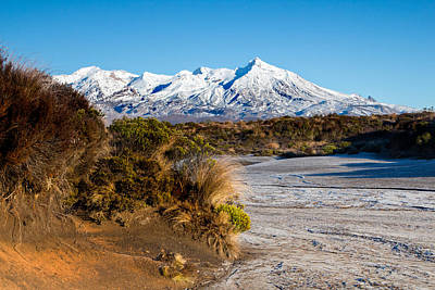 Photograph - Ruapehu Morning by Nicholas Blackwell