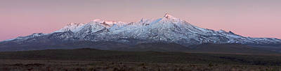 Photograph - Ruapehu Panorama by Nicholas Blackwell