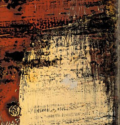 Rub Abstract Art Print by Gary Everson