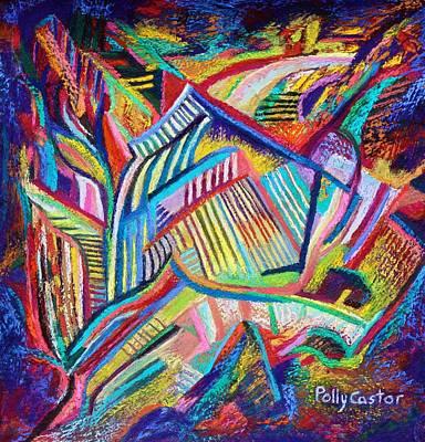 Painting - Rubaiyat by Polly Castor