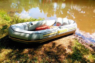 Rubber Boat 1 Art Print