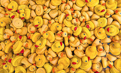 Photograph - Rubber Duckies by Steve Siri