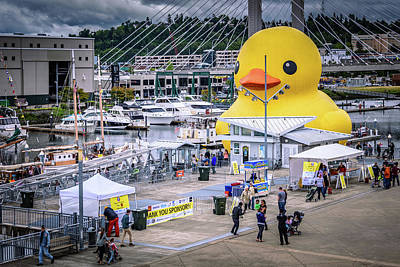 Rubber Ducky Wall Art - Photograph - Rubber Ducky 6 by Jon Berghoff