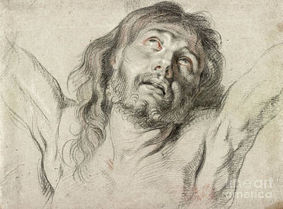 Drawing - Rubens, Christ.  by Granger