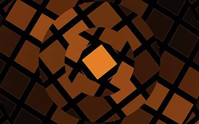 Digital Art - Rubik's by GJ Blackman