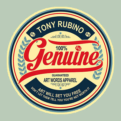Painting - Rubino Genuine by Tony Rubino