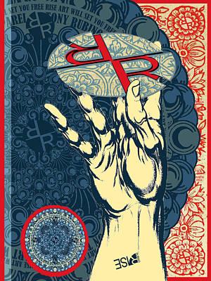Painting - Rubino Hand by Tony Rubino