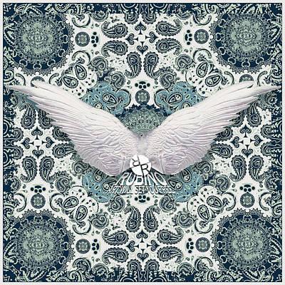 Mixed Media - Rubino Order From Chaos Wings by Tony Rubino