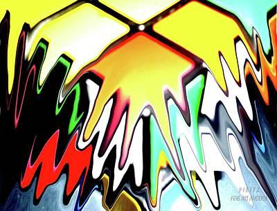 Rubix Splazh Art Print