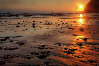 Photograph - Ruby Beach Sunset by David Chandler