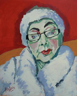 Painting - Ruby May Box Birmingham by Nop Briex