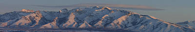 Photograph - Ruby Mountains Panorama by Jenessa Rahn