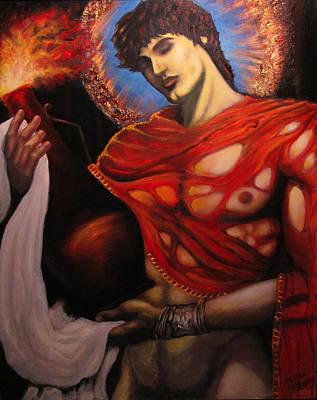 Ruby Prometheus, Last Version Art Print