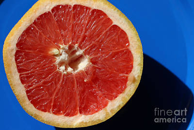 Photograph - Ruby Red Grapefruit by Karen Adams