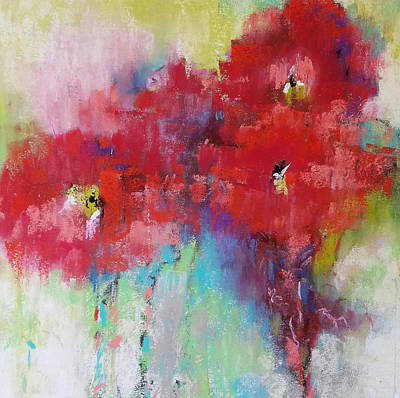 Pastel - Ruby Reds by Cynthia Haase
