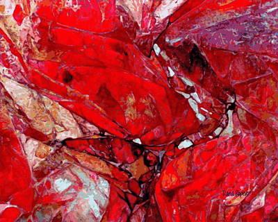 Roper Painting - Ruby Rocks by Dana Roper
