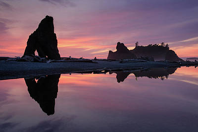 Photograph - Ruby Sunset by Michael Blanchette