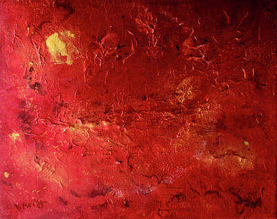 Painting - Ruby Red Jasper by Valerie Anne Kelly