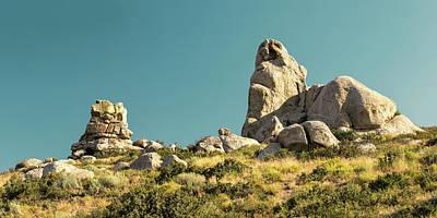 Photograph - Ruby Valley Rocks by Todd Klassy