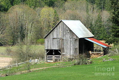 Photograph - Ruckle Barn by Frank Townsley