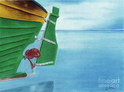 Painting - Rudder by Carol Bond