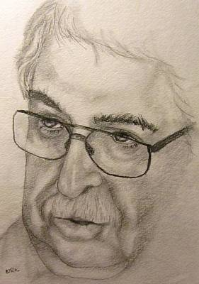 Drawing - Rudiger  by Barbara O'Toole