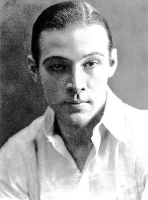 Painting - Rudolph Valentino by Pg Reproductions