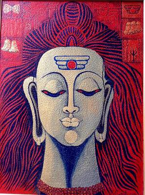 Rudra Art Print by Vibha Singh