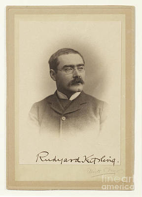 1907 Painting - Rudyard Kipling  by MotionAge Designs
