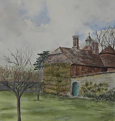 Rudyard Kipling's Bateman's Art Print by Debbie Homewood
