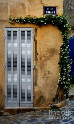 Photograph - Rue Ariane by Lainie Wrightson