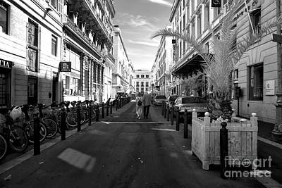 Rue Beauvau Art Print