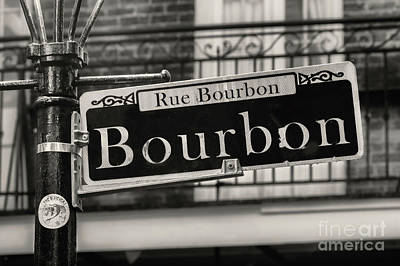 Photograph - Rue Bourbon by Jerry Fornarotto