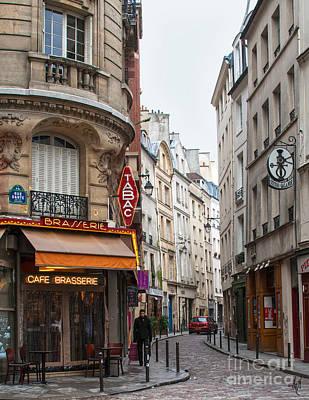 Rue Dante Paris Art Print