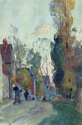 Painting - Rue De Jouy Le Comte by Auguste Lepere